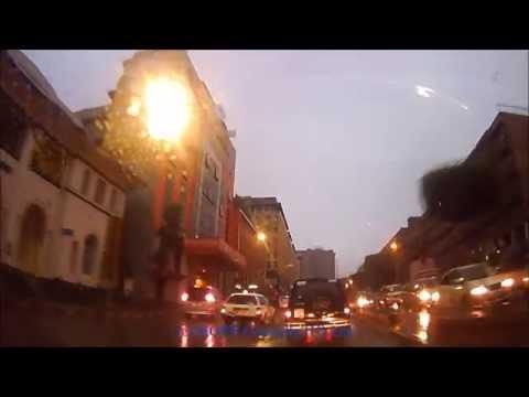 Kampala drive - Morning under rain