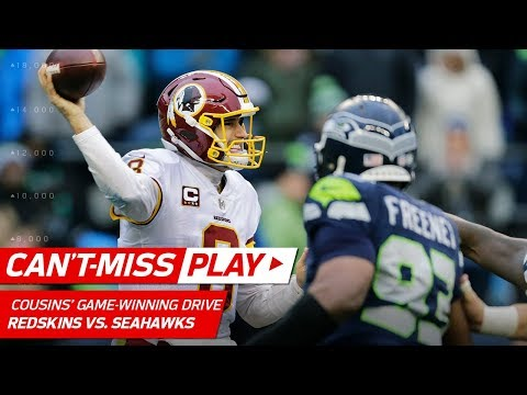 Kirk Cousins Leads Clutch Game-Winning TD Drive vs. Seattle! | Can