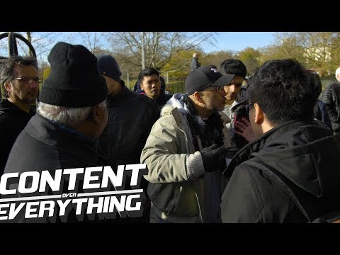 Altercation with Tan, His First Day In The Park. Drama, Provocation? Justice | Speakers Corner