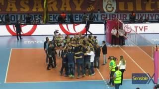 Galatasaray 0-3 Fenerbahçe   Kadınlar Ligi - Final   Şampiyonluk Maçı Sonu Salondan Görünümler
