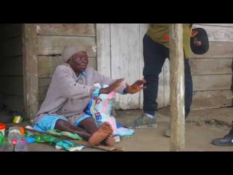ALPHA BETA RECORDS BOSS, SALATIEL GET'S BLESSED BY AN OLD LADY