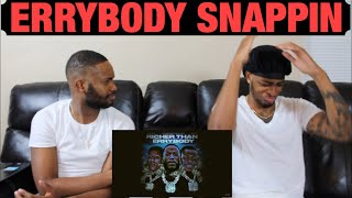 Gucci Mane- Richer Than Errybody (feat. Youngboy Never Broke Again & DaBaby) | GHETTO REACTIONS
