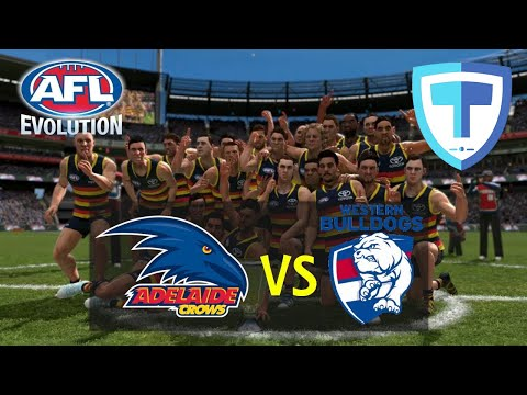 AFL Evolution - Grand Final - (Legend Difficulty) - Adelaide VS Western Bulldogs, PS4.