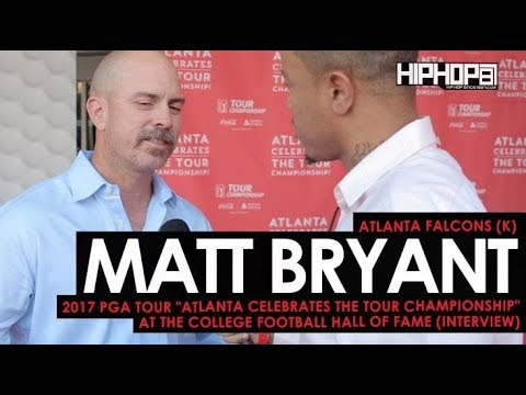 "Atlanta Falcons Matt Bryant Talks Falcons & More (""Atlanta Celebrates the TOUR Championship"")"