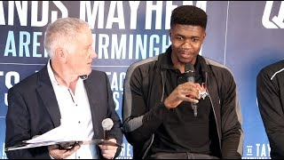 MIDLANDS MAYHEM! - SAM BOWEN v ANTHONY CACACE (COMPLETE) PRESS CONFERENCE FROM BIRMINGHAM / NOV 30th