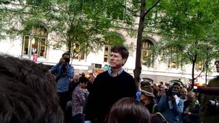 Jeffrey Sachs at Occupy Wall Street 10/15/11 - 2