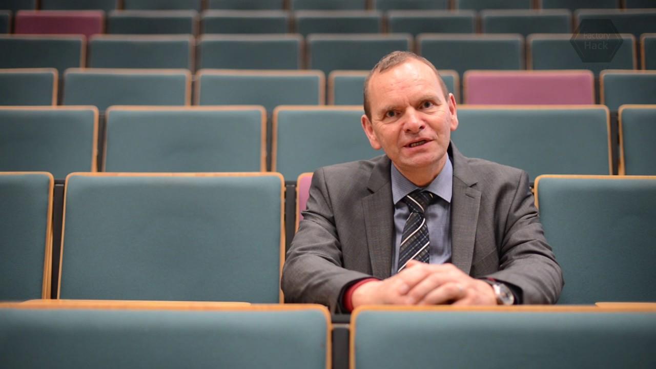 FactoryHack Statement Prof. Jürgen Krahl (Präsident Hochschule OWL ...