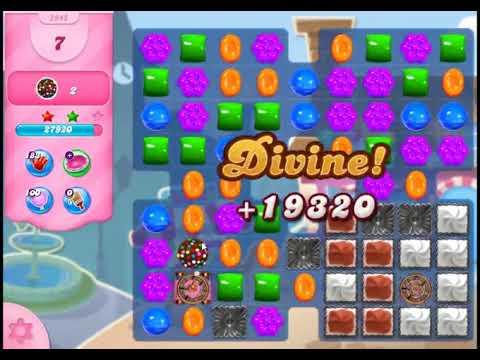 Candy Crush Saga Level 2945 - NO BOOSTERS