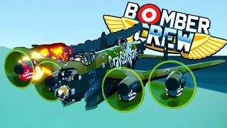 BOMBING SUBMARINES and DESTROYING ENEMY AMMO DEPOTS! - Bomber Crew Full Release Gameplay