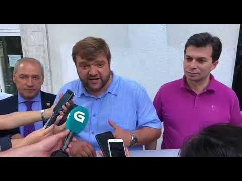 El PSOE se concentra ante O Hórreo para exigir Hemodinámica 24 horas en Lugo