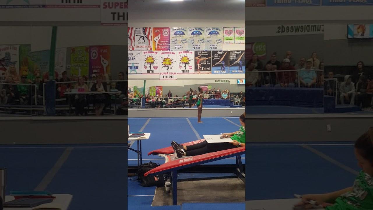 Kamren WGC Competition-Floor Event