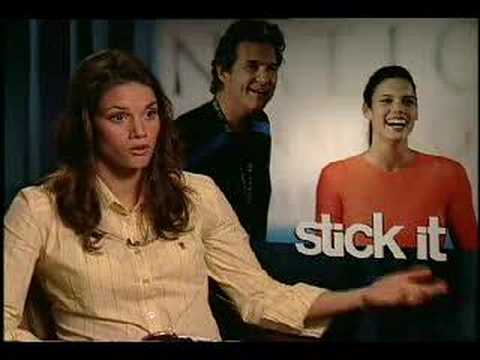 Missy Peregrym interview for Stick It