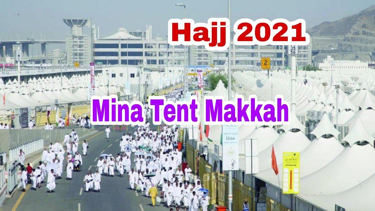 Download Hajj 2021 Mina Tent Makkah inside full view & Story