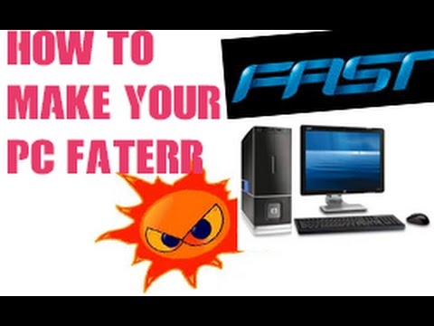 how to make your pc/laptop faster than before (100%working) 2016 - YouTube