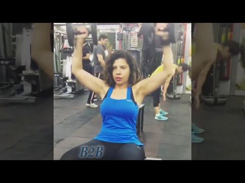 Bhojpuri Actress Sambhavna Seth Cleavage Workout thumbnail
