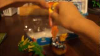 Skylanders: Unboxing Camo, Ignitor, and Warnado & Lightning Rod, Cynder, and Zook 3 Packs