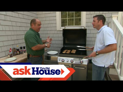 How To Install A Natural Gas Barbecue Grill Youtube
