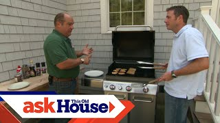 How to Install a Natural Gas Barbecue Grill