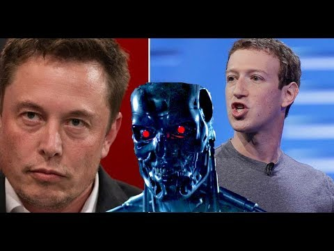 Elon Musk vs Zuckerberg on A.I. - Billionaire Tech Genius Showdown