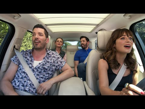 Carpool-Karaoke-The-Series-—-Deschanel-Sisters-The-Property-Brothers-—-Apple-TV-app