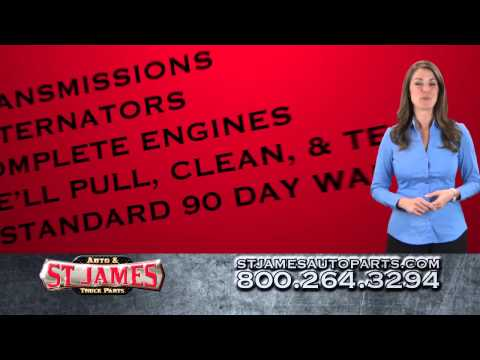 Used Auto Parts From St. James Auto & Truck Parts