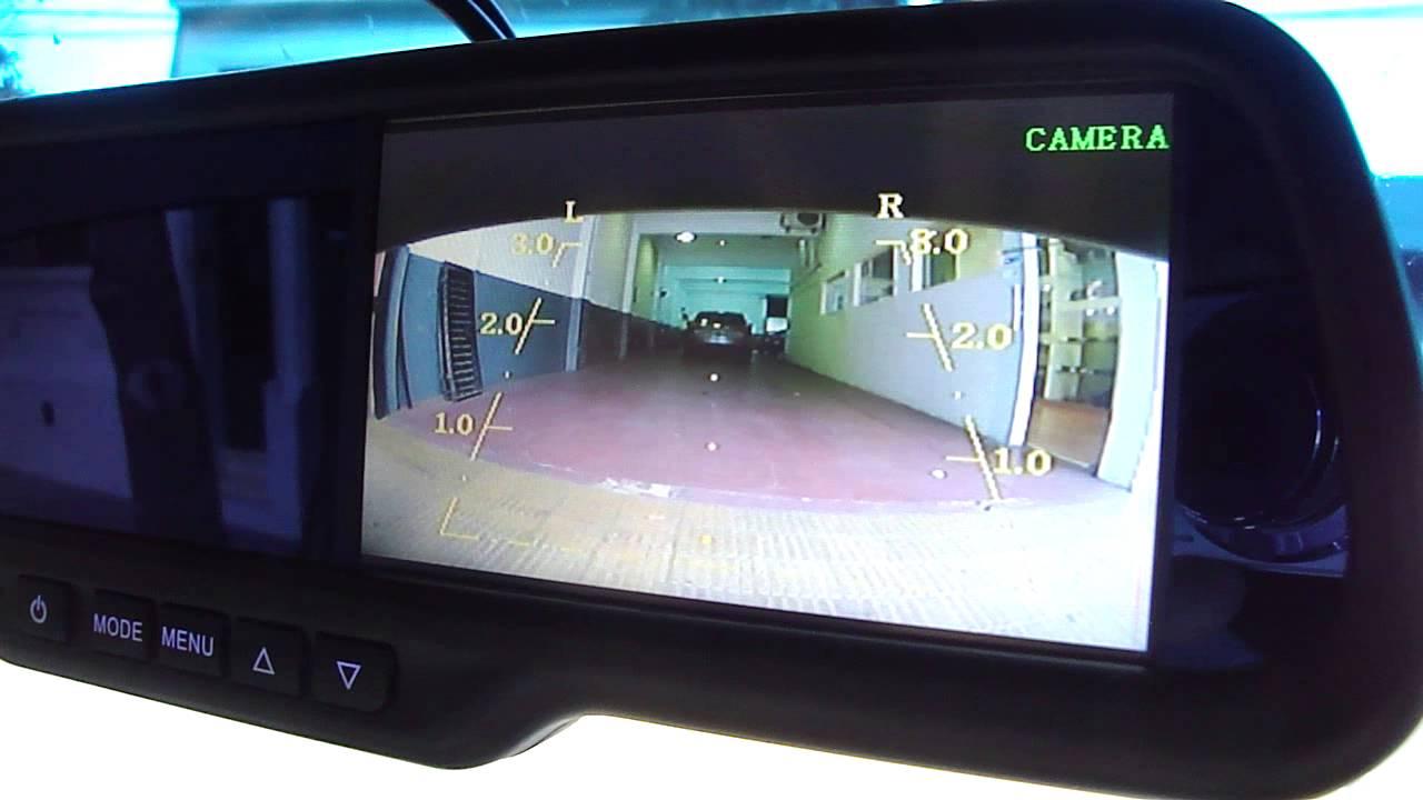 Espejo De Reemplazo Con Monitor 4 3 Quot Camara Trasera Con