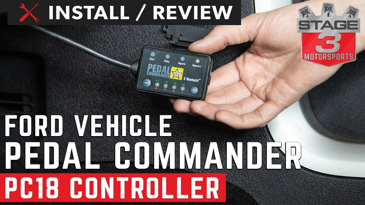 Pedal Commander EcoBoost Fits All Trim Levels; Base 2009-2016 PC18 for Lincoln MKS Throttle Response Controller with Bluetooth