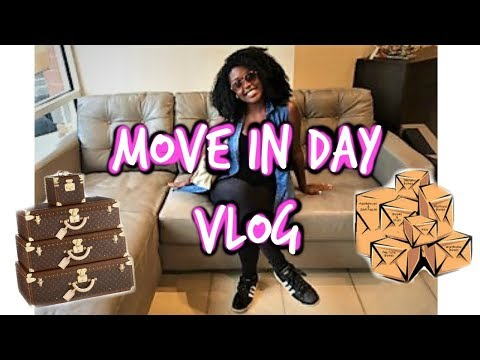 COLLEGE APARTMENT MOVE IN DAY VLOG!!!!