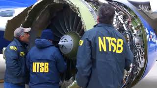 Последствия взрыва двигателя на boeing-737 рейса 1380 Southwest Airlines