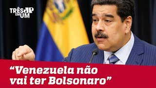Nicolás Maduro afirma que não permitirá uma mudança da esquerda para a direita na Venezuela
