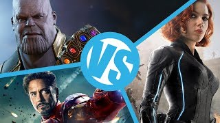 The Avengers VS Age of Ultron VS Infinity War : Movie Feuds