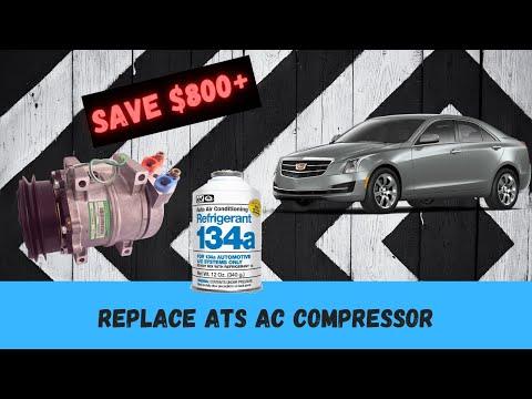 How To Fix Cadillac ATS AC Compressor 2.0 T