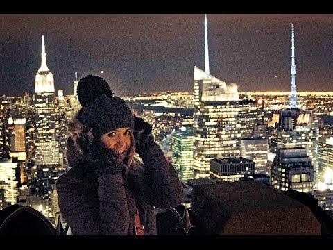 NEW YORK CITY AT NIGHT   NYC, USA