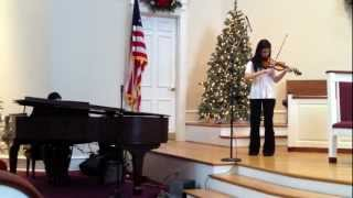 Gambar cover Carol of the Bells / God Rest Ye Merry Gentlemen Violin and Piano