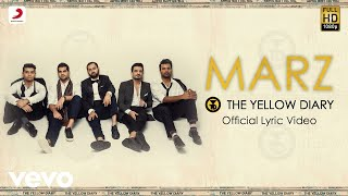 Marz - Official Lyric Video | The Yellow Diary