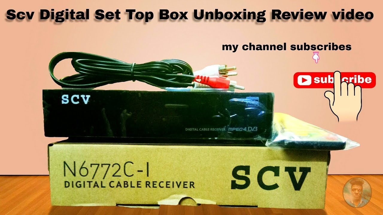 Scv Digital Set Top Box Unboxing Review Videos 2018 Youtube