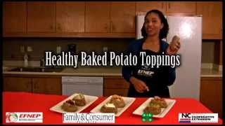 Healthy Baked Potato Toppings