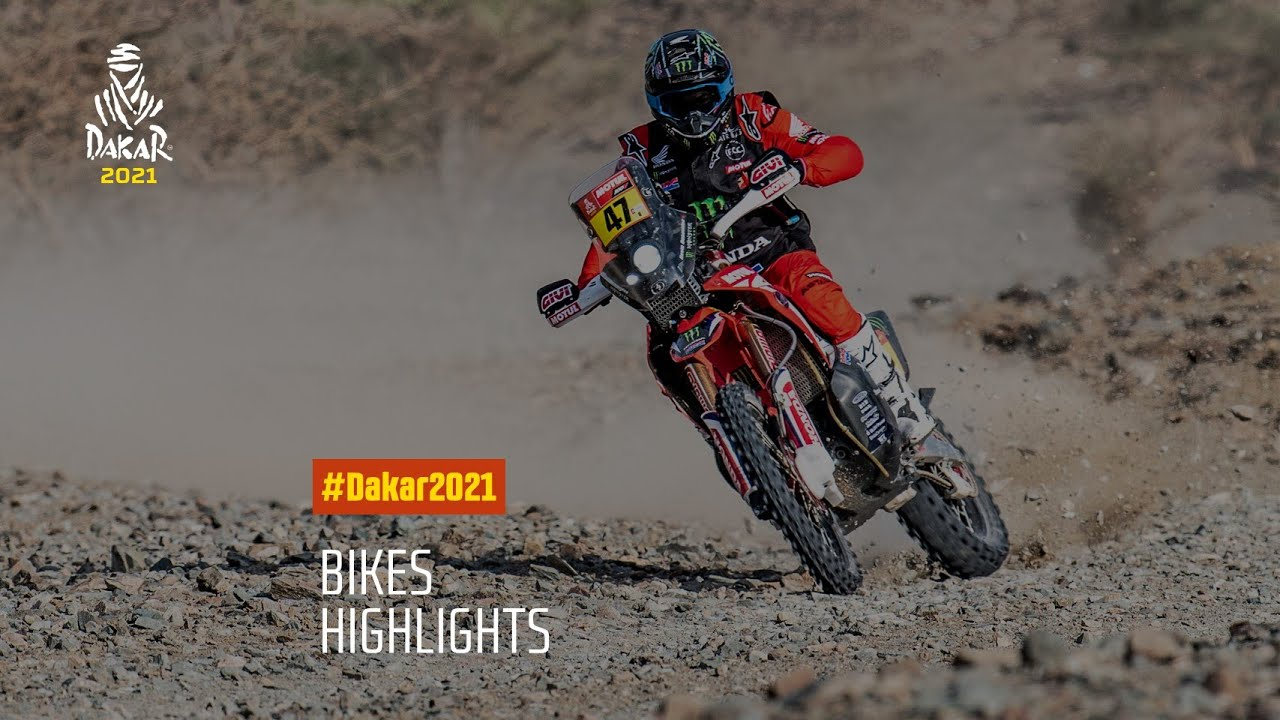#DAKAR2021 - Bikes Highlights