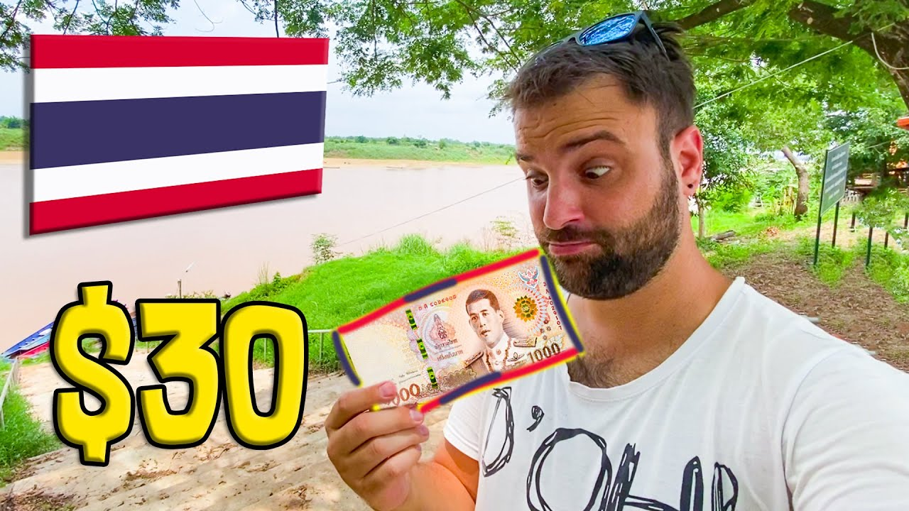 Can you live in Thailand with $30 / ฿1000 per day as a tourist?