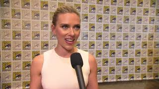 Black Widow: Scarlett Johansson Comic-Con 2019 Movie Interview