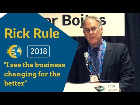 Gold and Natural Resources: Smart thoughts about contrarian opportunities - Rick Rule PDAC 2018