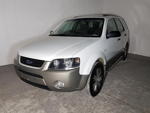Automatic Cars. SUV Ford Territory 2007 Review For Sale