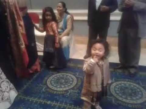 Baby Aarjav Dancing In Wedding Reception At Hotel Yak And Yeti Youtube