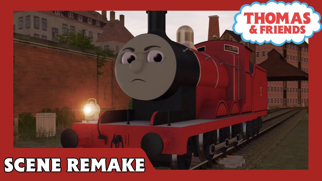 James' Trucks | Journey Beyond Sodor | Thomas & Friends | Scene Remake
