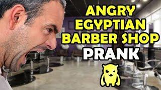 Angry Egyptian Barber Shop Revenge - Ownage Pranks
