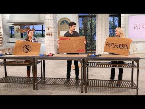 Learn How to Make DIY Doormats - Pickler & Ben