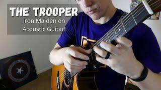 The Trooper (Iron Maiden) Acoustic Fingerstyle Guitar - John Henry Johnson