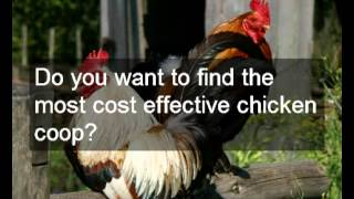 Cheap Chicken Coop And Run Plans | Download Working Practical Chicken Coop And Run Plans