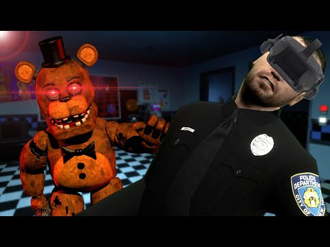 WE TRIED TO ESCAPE THE FNAF PIZZERIA IN VR! - Garry's Mod Multiplayer Virtual Reality