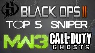 TOP 5 SNIPER Semaine #18 | MW3, Black ops 2 et Ghosts | Par SkyRRoZ